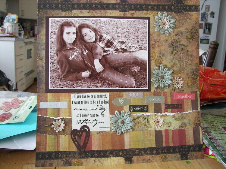 Closeness of sisterhood