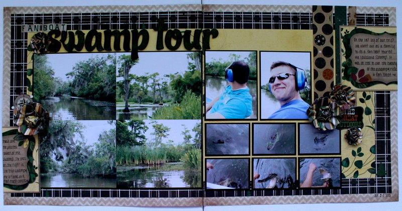 Fan Boat Swamp Tour
