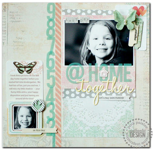 *Pink Paislee*  Last Day @ Home Together