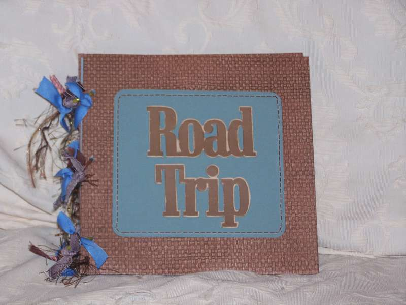 8x8 road trip hand made album