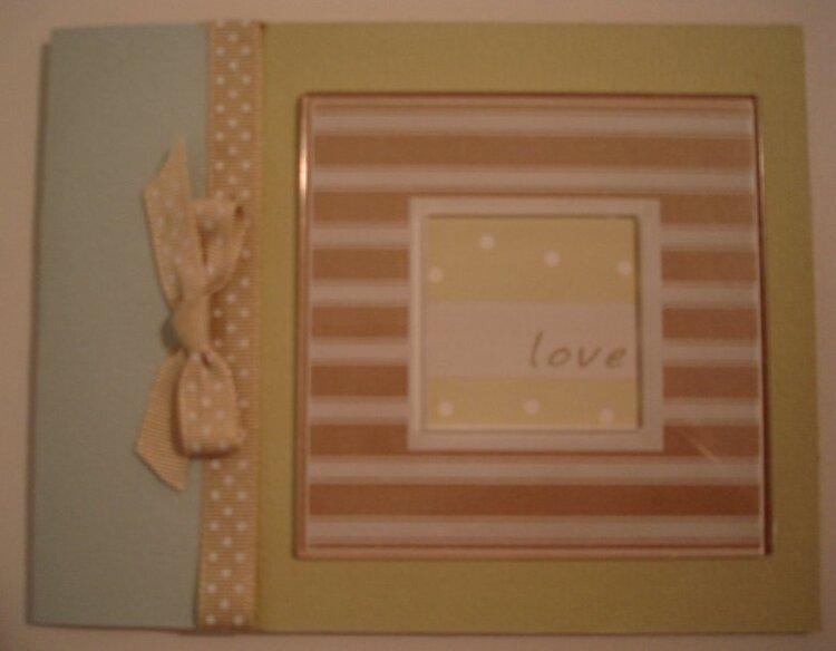 MIL Wedding Card