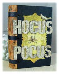 Pink Paislee Hocus Pocus collection Book