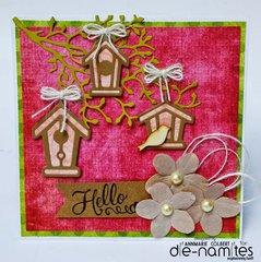 Hello Birdhouse by Annmarie Colbert