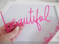Heidi Swapp Letterboard