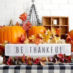 Be Thankful Vignette