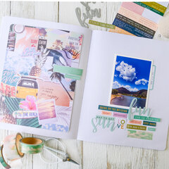 How To Use Busy Pattern Paper ~ Storyline Chapters Layout