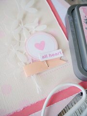 All Heart Card ~ Kitsch Flamingo
