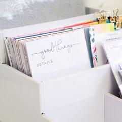 How To Get Organized : Stadium Organizer