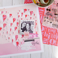 Making Memories Together Layout