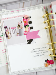 February Planner Layouts