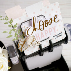 Choose Happy MemoryDex Card