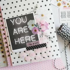 You Are Here Mixed Paper Journal