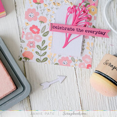 Pocket Card Tag ~ Simple Scrapbooks Pocket Cards