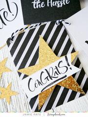 Pocket Cards to Graduation Banner ~ Simple Scrapbooks