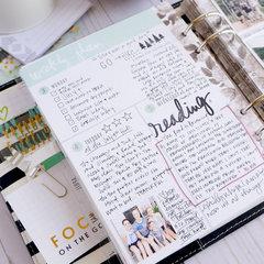 July Memory Planner Recap