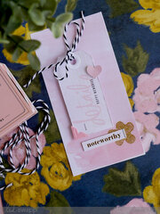 Glittery Embellished Cards and Tags