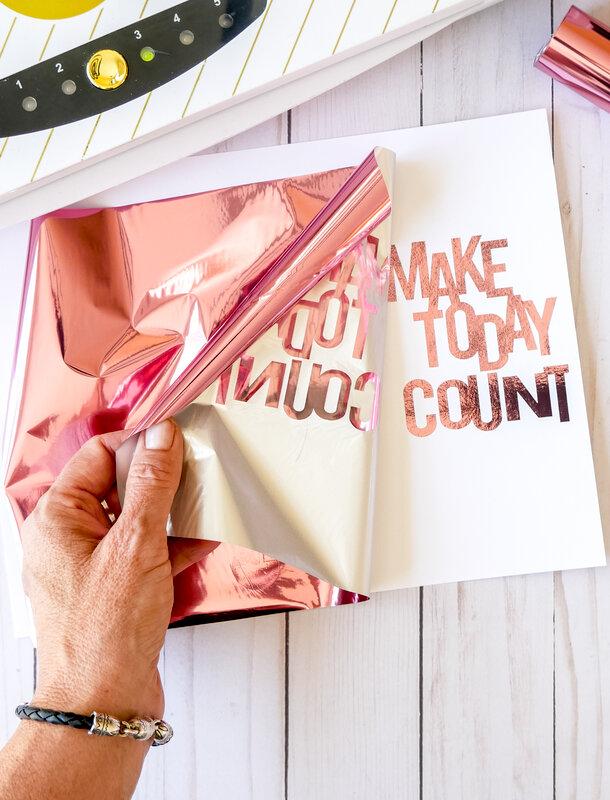 Make Today Count Mini Book