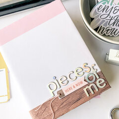 Pieces of Me Mini Album ~ Heidi Swapp Old School