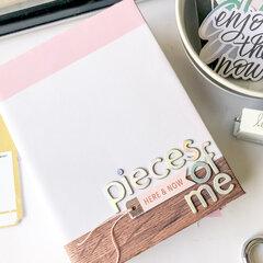 Pieces of Me Mini Album ~ Heidi Swapp Old School