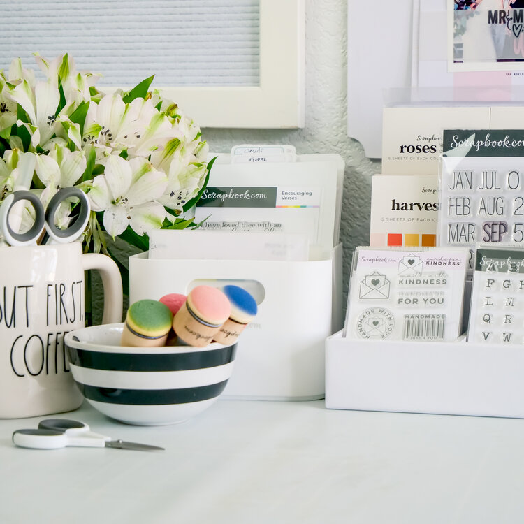 Work Space ~ Five Ways to Organize