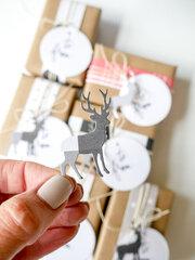 Easy Kraft Christmas Wrap and Tags