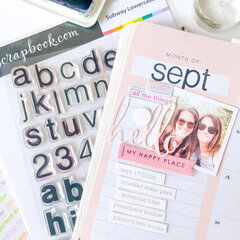 Three Ways to Use Stamps in Your Planner ~ Memory Planner