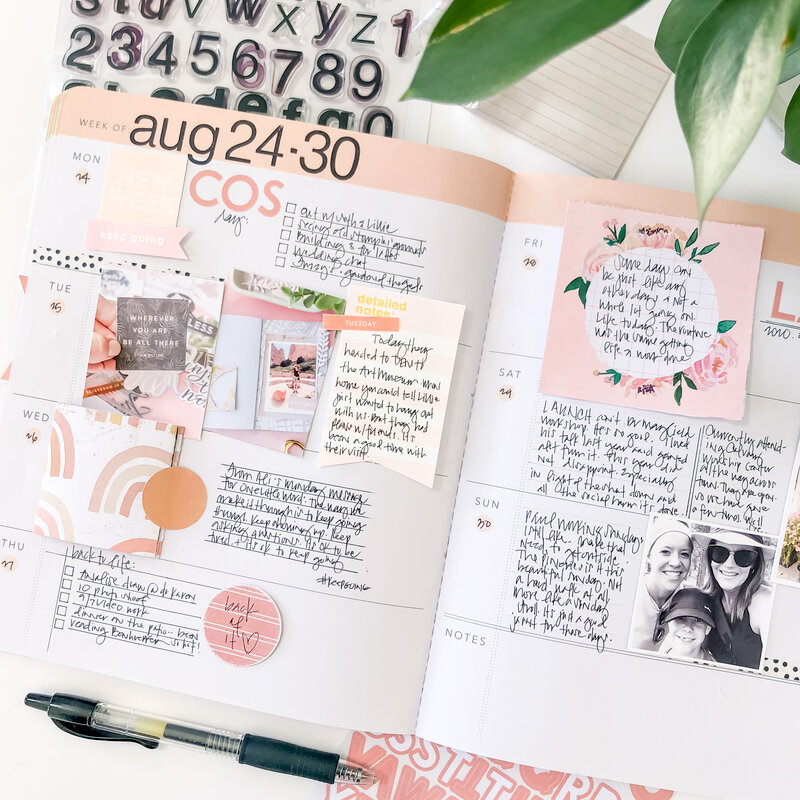 Planners and Stamps
