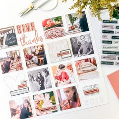 Thanksgiving Layout ~ Grid Page