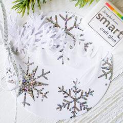 Merry Snowflake Tag