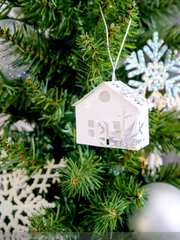 Minc Paper Village Ornaments
