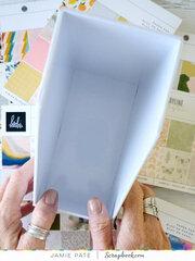 6x8 Paper Pad Storage ~ Work Space Organization