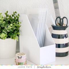 Slimline Storage Envelopes ~ Work Space Organization