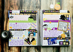 Halloween Week - Memory Journal