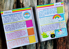 memory journal rainbow week
