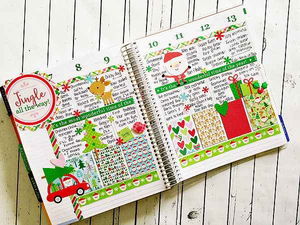 Planner Love: Here Comes Santa Claus