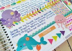 Memory Journal: Doodlebug Under the Sea