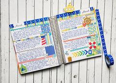 Memory Journal: Doodlebug Anchors Aweigh