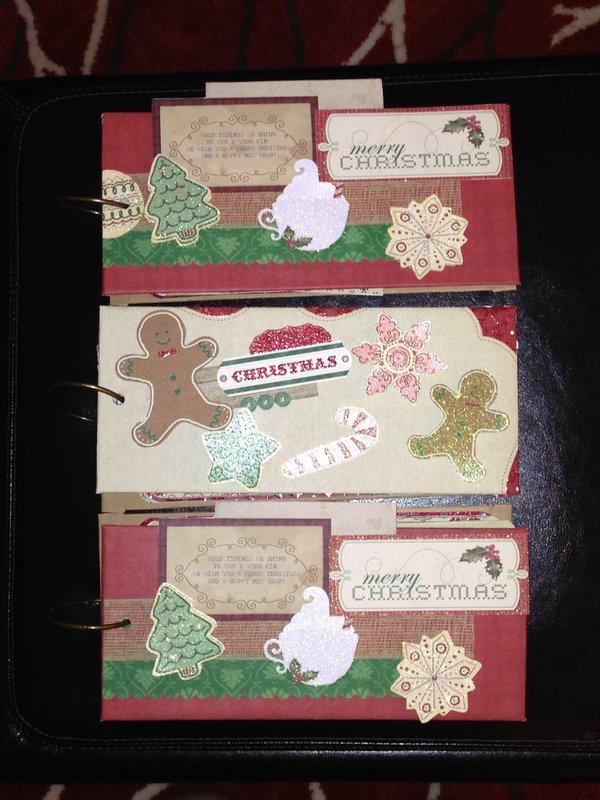 Christmas Tag Albums