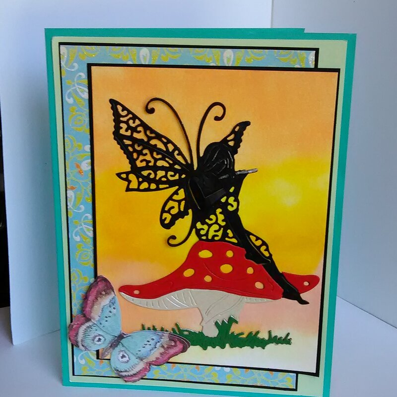 """""""Fairy and Butterfly Card #1"""""""