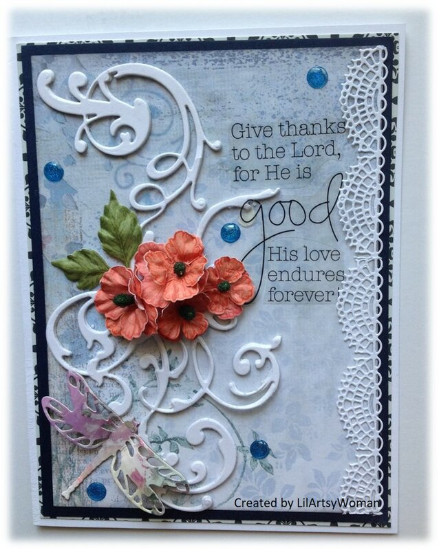 Psalm 107:1   Give thanks to the Lord, for He is good