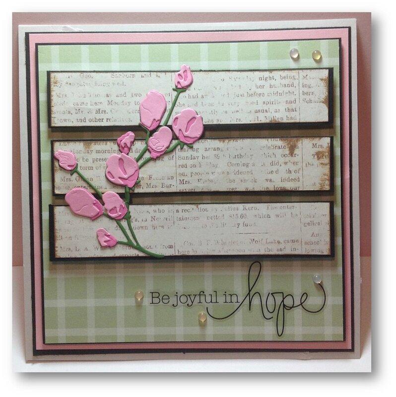 """""""Be Joyful In Hope"""""""