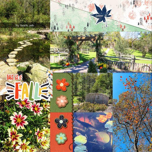 Pittsburgh Botanical Garden, left side