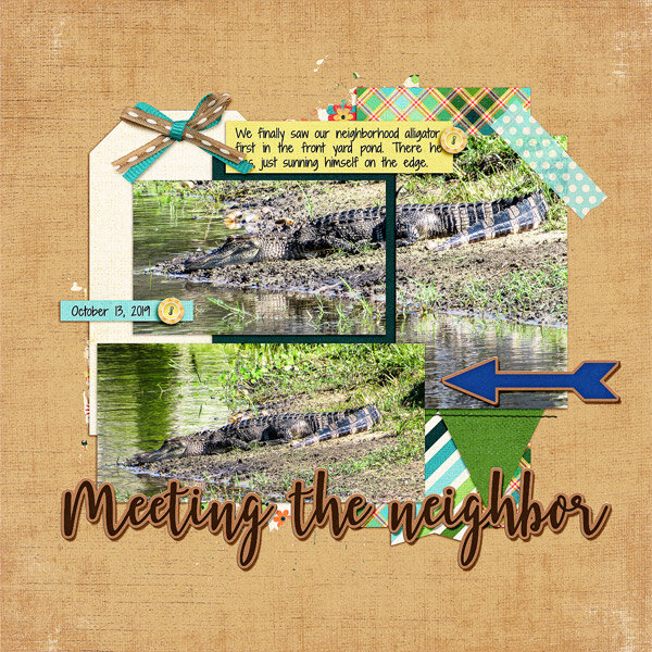 Meeting the New Neighbor, left side