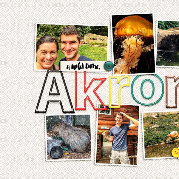 Akron Zoo, left