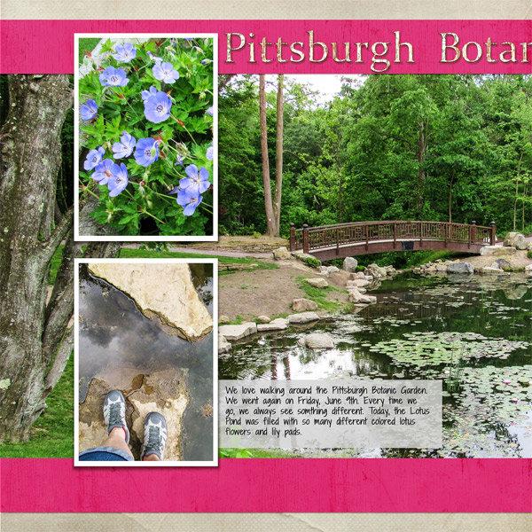 Pittsburgh Botanic Garden, left side