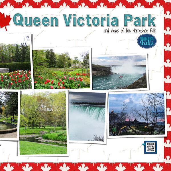 Niagara Falls, Day 2 - Queen Victoria Park