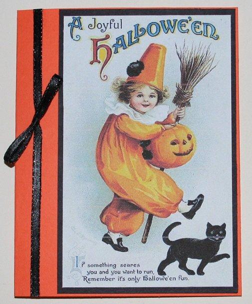 """A Joyful HALLOWEEN"" card"