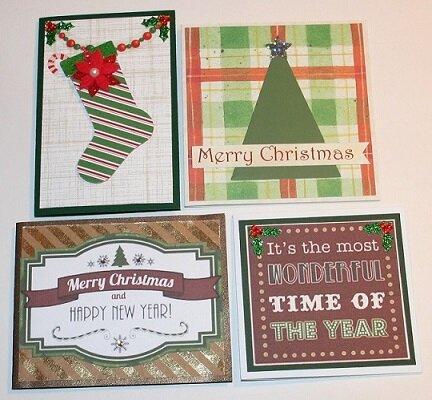 MINI CARDS-CHRISTMAS