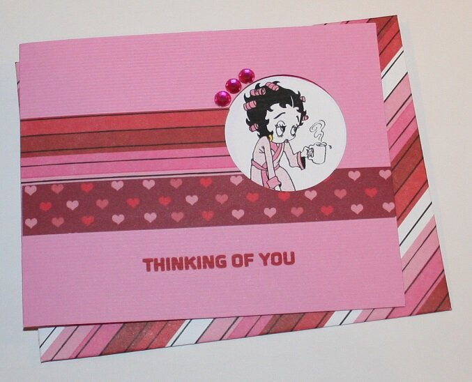 THINKING OF YOU/VALENTINE CARD