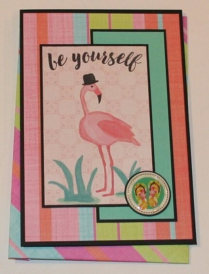 'BE YOURSELF' CARD